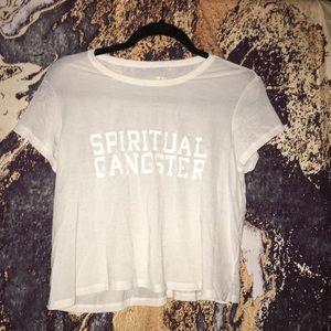 Spiritual Gangster crop active top